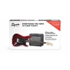 Купить SQUIER BY FENDER STRAT PACK CANDY APPLE RED