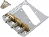 Купить FENDER 3-SADDLE AMERICAN VINTAGE TELECASTER BRIDGE ASSEMBLY WITH BRASS SADDLES CHROME