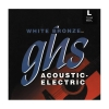 Купить GHS STRINGS WB-L WHITE BRONZE
