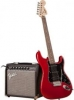 Купить SQUIER BY FENDER STRAT PACK HSS CANDY APPLE RED