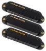 LACE HOT GOLD 3-PACK MATTE BLACK COVERS