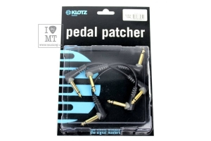 Патч Кабель KLOTZ ENTRY LEVEL PEDAL PATCHER 15 CM ANGLED купить