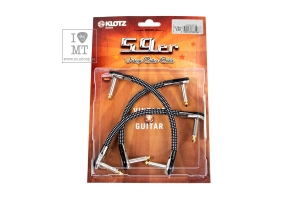 Патч Кабель KLOTZ VINTAGE 59 PANCAKE PRO PATCH CABLE 15 CM купить