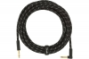 FENDER CABLE DELUXE SERIES 18.6' ANGLED BLACK TWEED фото
