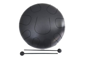 Разная Перкуссия PALM PERCUSSION METAL TONGUE DRUM 9 LEAFS BLACK DOFF купить