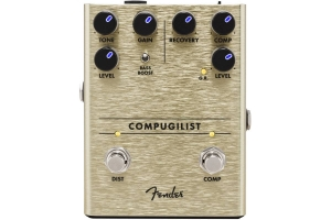 Педаль Эффект FENDER PEDAL COMPUGILIST COMPRESSOR/DISTORTION купить