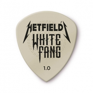 Медиатор DUNLOP PH122P1.00 Hetfield's White Fang Custom Flow Pick 1.00mm (6 Pack) купить