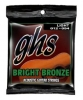 Купить GHS STRINGS BRIGHT BRONZE SET BB30L