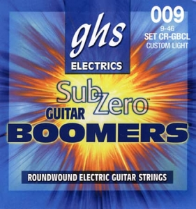 Купить GHS STRINGS SUB-ZERO BOOMERS SET цена 255 грн