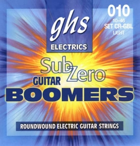 Купить GHS STRINGS SUB-ZERO BOOMERS SET CR-GBL цена 258 грн