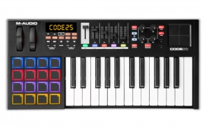 Клавиные Инструменты M-AUDIO Code 25 (Black) купить