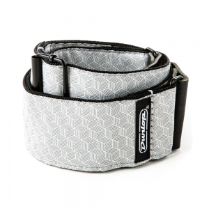 Ремень Для Гитары DUNLOP D6712 Jacquard Cube Hatch Light Grey Strap купить
