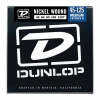 Купить DUNLOP DBN45125T NICKEL PLATED STEEL MEDIUM 5 TAPERED B 45-125