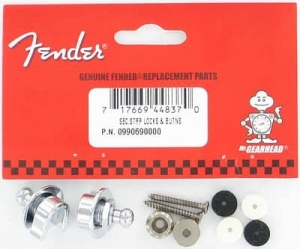 Купить FENDER SECURITY STRAP LOCKS AND BUTTONS цена 702 грн