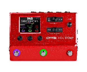 Гитарный Процессор LINE6 HX Stomp Limited Edition Red купить