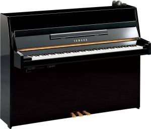 Фортепиано YAMAHA JU109 Silent SC2 (Polished Ebony) купить
