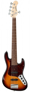 Бас-Гитара SADOWSKY MetroLine 21-Fret Vintage J/J Bass Alder 5-String ('59 Burst Transparent High Polish) купить