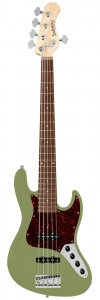 Бас-Гитара SADOWSKY MetroLine 21-Fret Vintage J/J Bass Alder 5-String (Solid Sage Green Metallic Satin) купить