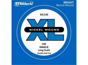 Струны Для Бас Гитары D'ADDARIO SXL130 XL NICKEL WOUND DOUBLE BALL END 130 купить