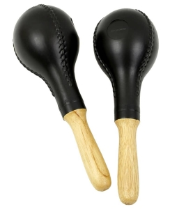 Маракасы MAXTONE T45 Large Plastic Maracas Wooden Handle купить