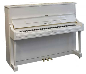Фортепиано YAMAHA U1 (Polished White) купить