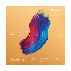Струны Для Скрипки D`ADDARIO A310 3/4M Ascent_ Violin Strings 3/4M купить