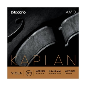 Струны Для Скрипки D`ADDARIO KA410 MM Kaplan Amo Viola 4/4 Medium Scale Medium Tension купить