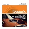 Купить D`ADDARIO EFT15 FLAT TOPS EXTRA LIGHT 10-47