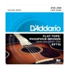 Купить D`ADDARIO EFT16 FLAT TOPS LIGHT 12-53