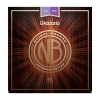 Купить D'ADDARIO NB1152 NICKEL BRONZE CUSTOM LIGHT (11-52)