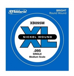 Струны Для Бас Гитары D`ADDARIO XB095M XL Nickel Wound Medium Scale 095 купить