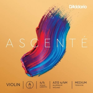 Струны Для Скрипки D`ADDARIO A312 4/4M Ascent_ Violin String A 4/4M купить