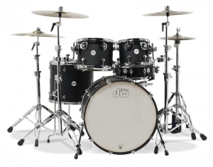 Ударная Установка DW Design Series 5-Piece Shell Pack (Black Satin) купить
