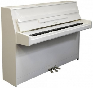 Фортепиано YAMAHA JU109 (Polished White) купить