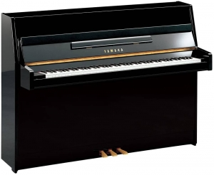 Фортепиано YAMAHA JU109 (Polished Ebony) купить