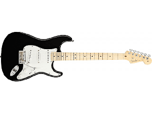 Купить FENDER STANDARD STRATOCASTER MAPLE FINGERBOARD BLACK цена 18 873 грн