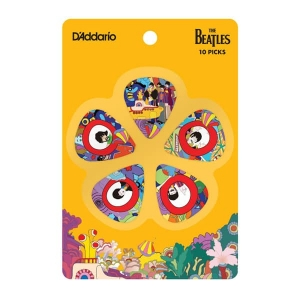 Медиатор D`ADDARIO 1CWH6-10B7 Yellow Submarine 50th Anniversary Pick Set (Heavy) купить
