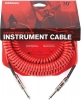 Купить D'ADDARIO PW-CDG-30RD Coiled Instrument Cable - Red (9m)