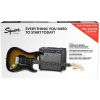 Купить SQUIER BY FENDER STRAT PACK BROWN SUNBURST