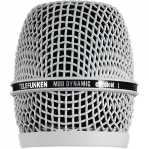Сетка Для Микрофона TELEFUNKEN WHITE HEAD GRILL HD03-WHT FOR M80 купить